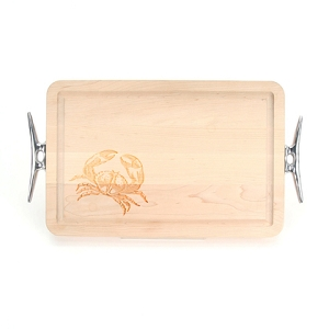Maple Cutting Board - Crabby Crab
