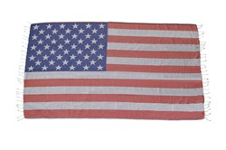 Turkish Towel - American Flag