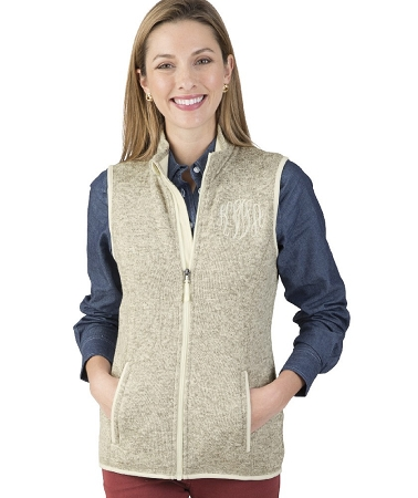 Pacific Heathered Vest - Oatmeal