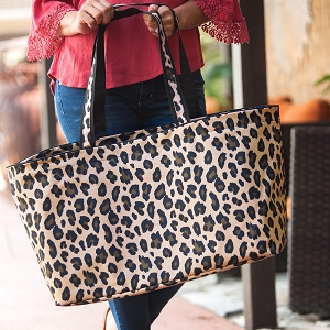 Monogrammed Ultimate Tote - Wild Side