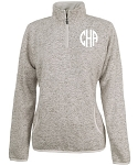 Monogrammed Oatmeal Heathered Pullover