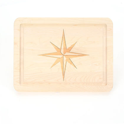 Maple Cheese Board - Which Way, Captain?