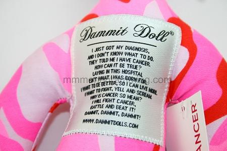 Dammit cancer dammit doll