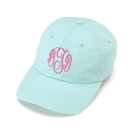 home accessories hats monogrammed baseball cap mint cheap monogram hat diy wool