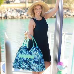 Monogrammed Beach Bag - Maliblue