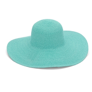 Monogrammed Floppy Hat - Mint