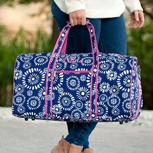 Monogrammed Duffel Bag - Riley