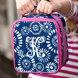 WB Monogrammed Lunch Bag - Riley