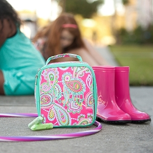 Monogrammed Lunch Box - Lizzie