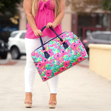 Monogrammed Travel Bag - Grace