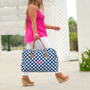 Monogrammed Travel Bag - Polly