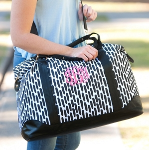Monogrammed Carolina Night Weekender