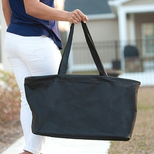Monogrammed Ultimate Tote - Black