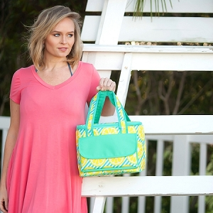 Monogrammed Cooler Bag - Main Squeeze