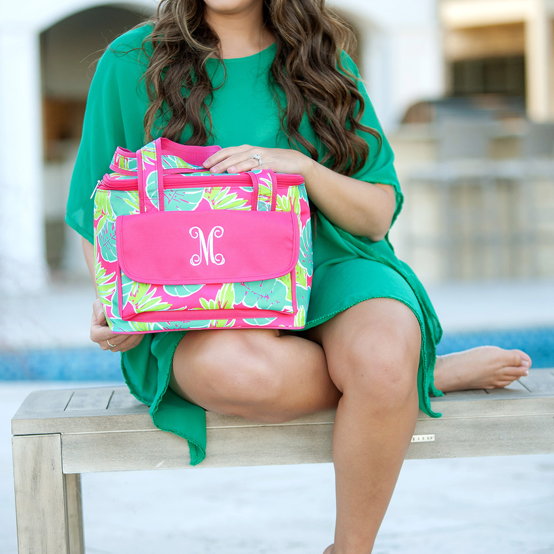 Monogrammed Cooler Bag - Totally Tropics