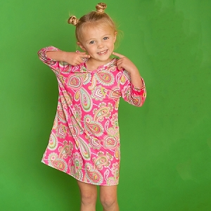 Monogrammed Girls' Tunic - Lizzie
