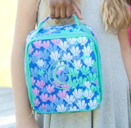 WB Monogrammed Lunch Bag - Mermazing