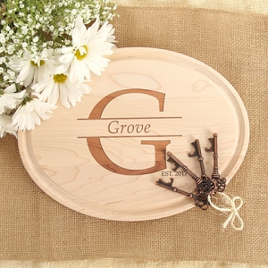 Maple Cutting Board - Family Name + Established