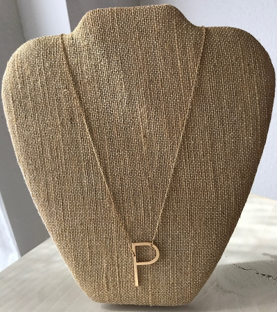 Initial Necklace-P
