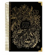 2019-2020 Academic Year Planner - Gold Embroidery