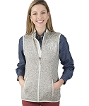 Pacific Heathered Vest - Light Grey