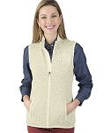 Pacific Heathered Vest - Ivory