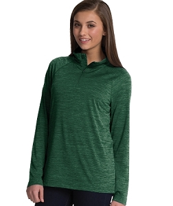 Ladies' Monogrammed Athletic Pullover - Forest