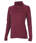 Ladies' Monogrammed Athletic Pullover - Garnet