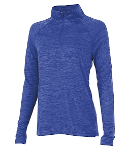 Ladies' Monogrammed Athletic Pullover - Royal