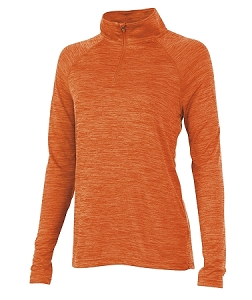 Ladies' Monogrammed Athletic Pullover - Orange