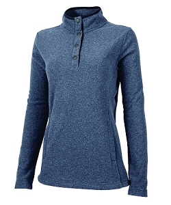 Bayview Fleece Pullover - Navy Heather