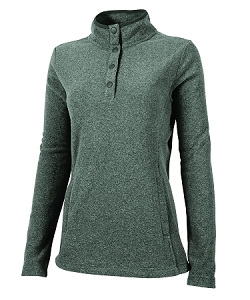 Bayview Fleece Pullover - Charcoal Heather