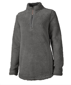 Monogrammed Newport Fleece - Charcoal