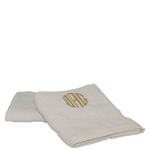 Luxury Cotton Hand Towels (Set of 2) Ivory