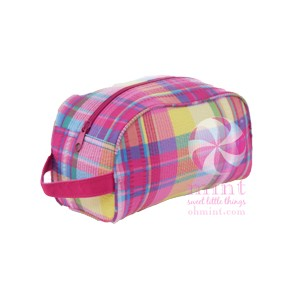 Popsicle Plaid Traveler Case