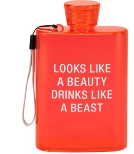 Acrylic Flask - Like A Beast