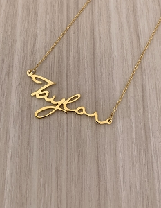 Personalized Name Necklace Font 44