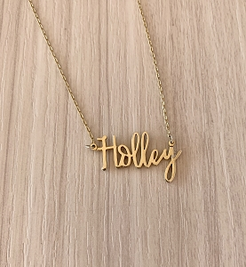 Personalized Name Necklace Font 53