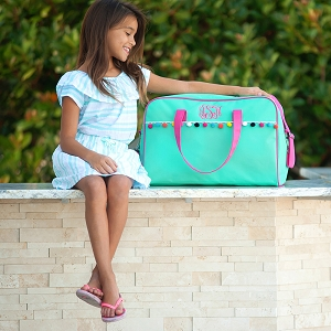 Monogrammed Emily Travel Bag