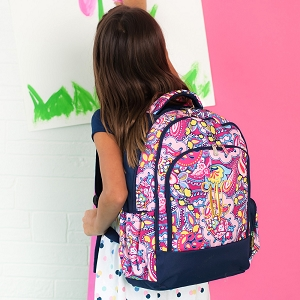 Monogrammed Backpack - Ellison