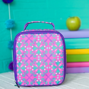 Monogrammed Lunch Box - Lila