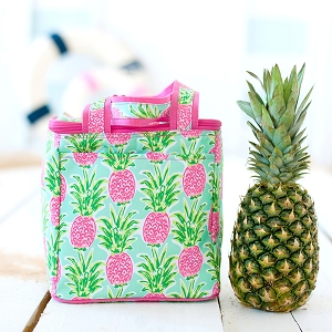 Monogrammed Cooler Tote - Sweet Paradise