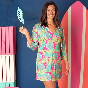 Women's Tunic - Totally Tropics