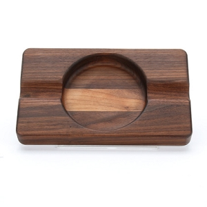 Cigar Ash Tray - Walnut