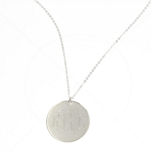 XL Large Round Necklace