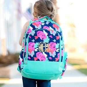 Monogrammed Backpack - Amelia