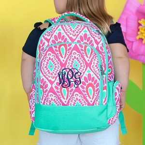 Monogrammed Backpack - Beachy Keen