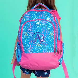 Monogrammed Backpack - Sparktacular