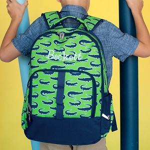 WB Monogrammed Backpack - Later Gator