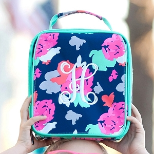 WB Monogrammed Lunch Bag - Amelia